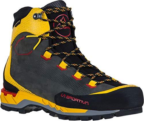 La Sportiva Trango Tech Leather GTX Mountain Boot - Men's Black/Yellow 43