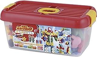 学研 ニューブロック たっぷりセット 【おもちゃ はめこみ はじめ やわらかい やわらか ぶろっく がっけん ガッケン 知育玩具 ちいくがんぐ にゅーぶろっく 日本製 国産 8500】