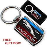 CarGifts - Llavero con logo para Jaguar E-Pace