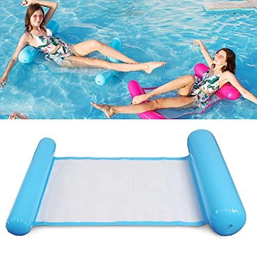 XER Hamaca de agua Piscina Playa flotante reclinable inflable Hamaca de agua flotante Silla de salón