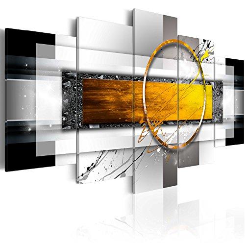 murando Cuadro en Lienzo Abstracto Moderno 200x100 cm Impresión de 5 Piezas Material Tejido no Tejido Impresión Artística Imagen Gráfica Decoracion de Pared Arte a-A-0052-b-p