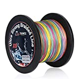 RUNCL Braided Fishing Line with 8 Strands, Fishing...