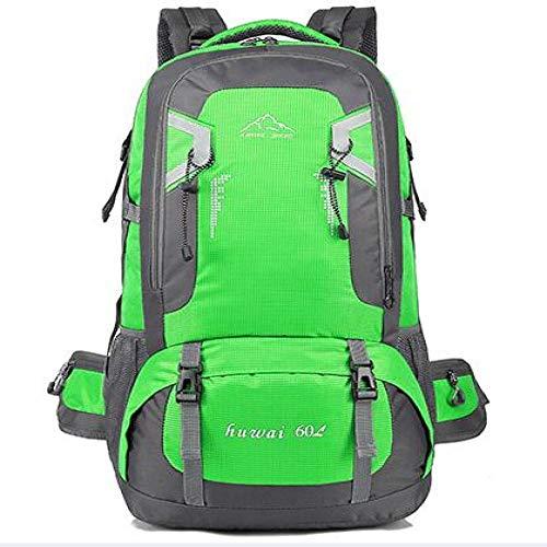 60L Waterproof Unisex Men's Backpack Travel Bag Sports Bag Backpack Outdoor Mountaineering Bag