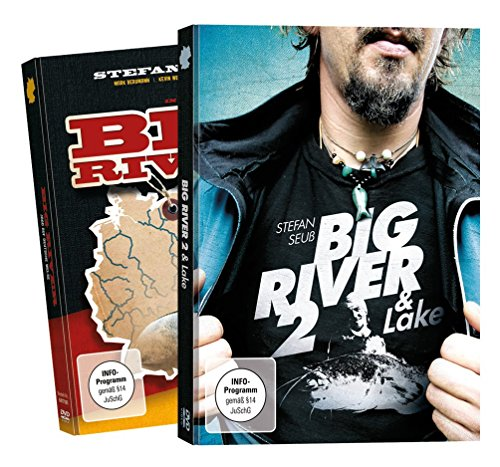Stefan Seuß Big River + Big River 2 - DVD Set, Wallerangeln Fluss, Angeln auf Wels an Weser, Elbe, Wallerfilm, Welsfilm, Angelfilm, Angeldvd, Wallermontagen, Welse fangen
