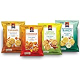 Quaker Rice Crisps, Gluten Free, 4 Flavor Sweet & Savory Variety Mix, Single Serve 0.67oz, 30 count