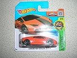 Hot Wheels Lamborghini Huracán LP 610-4 NARANJA 76/250 HW EXOTICS (Tarjeta Corta)
