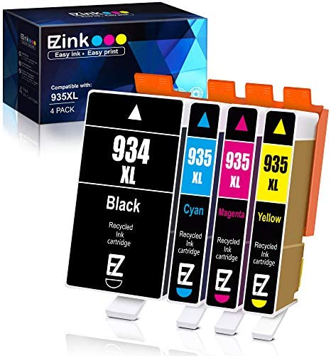E Z Ink TM Compatible Ink Cartridge Replacement for HP 934 XL 935 XL 934XL 935XL to use with product image