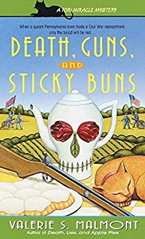 Death, Guns, and Sticky Buns (Tori Miracle Mysteries) 0440235987 Book Cover