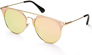 MESTIGE Women's Sunglasses Round Giza in Gold Gold