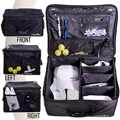 Athletico Golf Trunk Organizer Storage - Car Golf Locker To Store Golf...