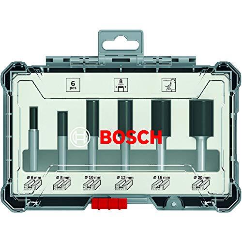 Bosch Professional 6tlg. Nutfräser Set...