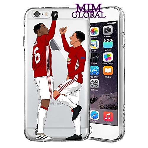 MIM Global Football Soccer Futball Hulle Case Cover Kompatibel Fur Alle iPhone (iPhone 7 Plus/8 Plus, Pog & JES)