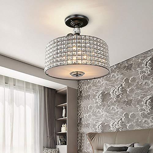 The only good quality interieur zwart en zilver Posmodern minimalistisch geometrisch rond glas zwart plafondlamp hotelkamer lamp 420 x 410 mm