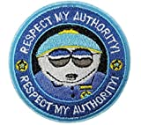 South Park Cartman Respect My Authority Embroidered 3'...