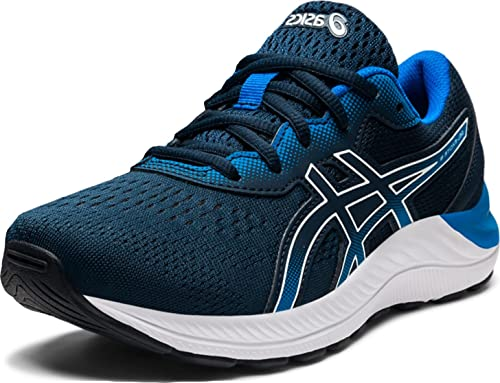 ASICS Kid's Gel-Excite 8 GS Running Shoes, 7, French Blue/White