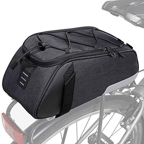 HWBB 10L Bicycle Bag Bicycle Rear Bag MTB Road Bike Boot Bag Waterproof Bicycle Boot Bag Luggage Rack Bag for Bicycle Seat Rear Suitcase Fietstass Accessories