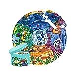 Andreu Toys- Animals Around The World Puzzles encajables y Rompecabezas, Multicolor (MD3099)