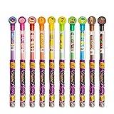 Scentco Colored Smencils - Gourmet Scented Coloring Pencils, 10 Count