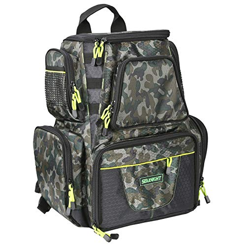 SeaKnight Fishing Tackle Backpack, Large Storage, Saltwater Resistant Fishing Bags, Outdoor...