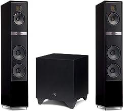 "Martin Logan Motion 40i Floorstanding Speakers Gloss Black Pair and Dynamo 400 Powered 8"" Subwoofer Bundle"