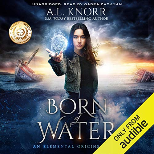 Born of Water: An Elemental Origins Novel audiobook cover art