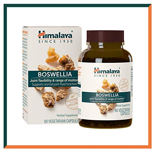 Himalaya Boswellia for Joint Flexibility and Joint Mobility 250 mg, 60 Capsules