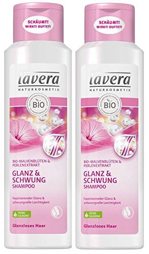 lavera Haar Shampoo Glanz & Schwung ∙ Malvenblüte...