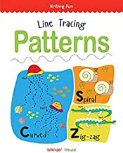 Line Tracing Patterns: Practice Drawing And Tracing Lines And Patterns