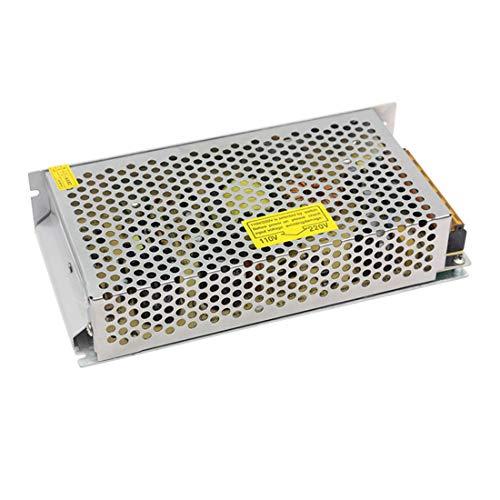 ZWYJ - Fuente de alimentación de 12 V, 10 A, 120 W CC, conmutación regulada universal para CCTV, radio, proyecto de computadora, luces de tira LED, impresora 3D