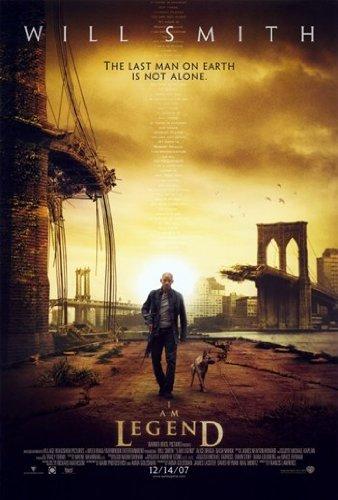 I Am Legend - Poster del film, 27,94 x 43,18 cm