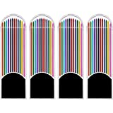 KABEER ART ® 48 Pieces Colored Lead Refills, 2.0 mm, 90 mm Tall, Pre-Sharpened, 12 Colors