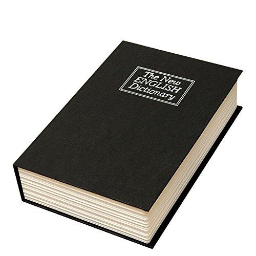 Libro cassaforte denaro nascondiglio sicuro Box libro Safe Cassetta Portavalori mimetizzato come–English Dictionary