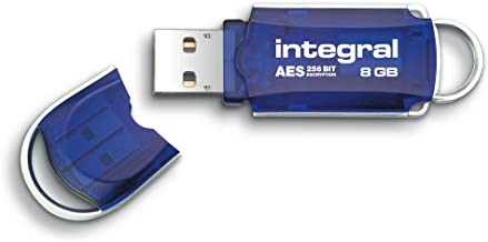 Integral Courier 8GB Crypto Drive - FIPS 197 Encrypted USB