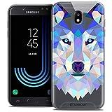 Caseink Coque pour Samsung Galaxy J7 2017 J730 (5.5) Housse Etui [Crystal Gel HD Polygon Series...