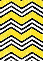 igsticker ポスター ウォールステッカー シール式ステッカー 飾り 841×1189㎜ A0 写真 フォト 壁 インテリア おしゃれ 剥がせる wall sticker poster 012403 黄色 黒 柄