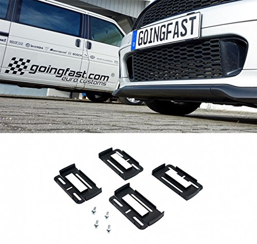 2x Sline registration plate holder car holder for EU except AT number plate holder
