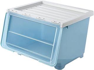Boîte De Rangement En Plastique Avec Couvercle Transparent Pour Ranger Vêtements Jouets Vaisselle Outils Convient Pour Cha...