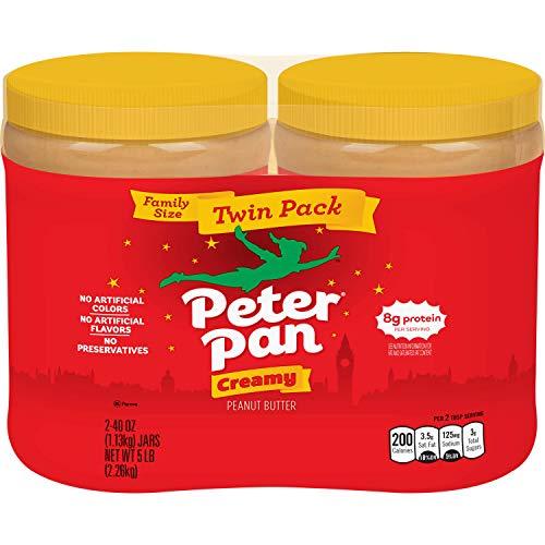 Peter Pan Peanut Butter Twin Pack, 80 Ounce