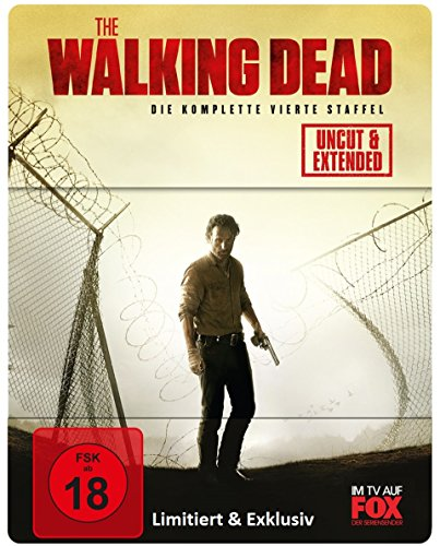 The Walking Dead - Staffel 4 (Uncut/Extended) (Limited Edition) [Blu-ray]