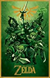 Theissen The Legend of Zelda Nintendo Video Game Poster - Matte Poster Frameless Gift 11x17 inch(28cm x 43cm)*IT-00199