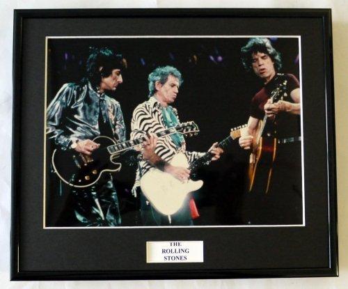 EC The Rolling Stones/Gerahmtes Foto (5)