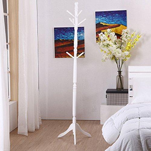 WLH- Woonkamer slaapkamer Massief parket Kapstok Houten Hanger Simple Room Kleding Hat Bag Hanger