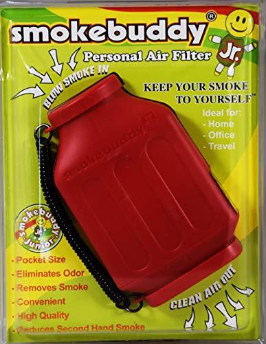 Smokebuddy Jr Persönlicher Luftfilter, in Rot