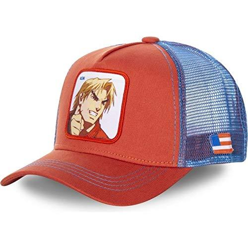 Lhbin Baumwolle Baseball Cap Männer und Frauen Hip Hop Papa Net Cap Trucker Hut-W1498-KEN