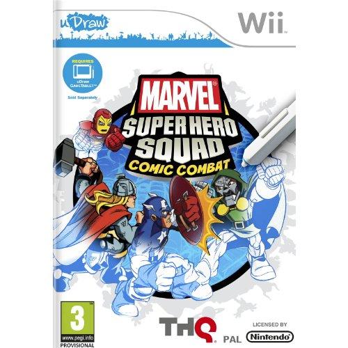 Marvel Super Hero Squad Comic Combat - Requires uDraw (Nintendo Wii) [Import UK]