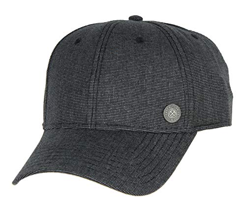 Bioworld Free Authority MilIndustry Liner Flex Blended Spandex Hat Cap Charcoal Grey