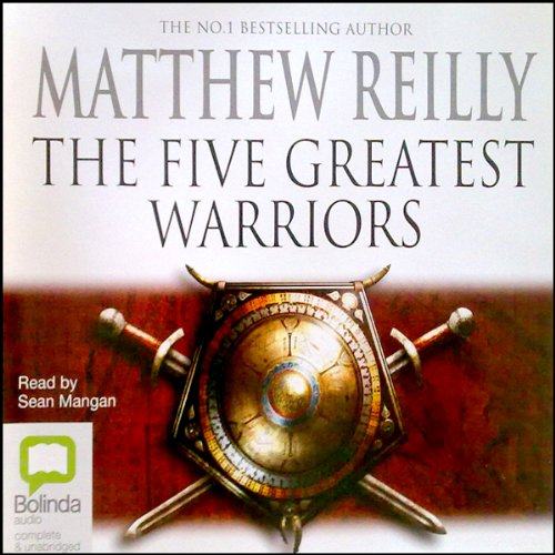 Five Greatest Warriors audiobook cover art