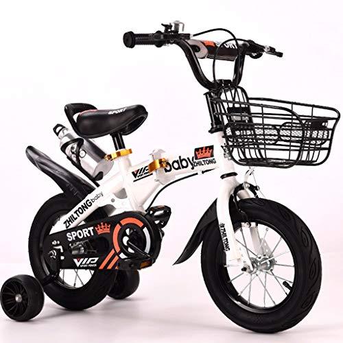 Bicicleta para Niños Infantil Niño de bicicletas plegables portátiles □ compacto niños...