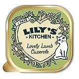 Lily's Kitchen Katzen Nassfutter mit Lammfleisch-Kasserolle, Vollwertnahrung (19 x 85g)