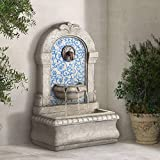 John Timberland Manhasset Outdoor Wall Water Fountain 30 1/4' High Free Standing Tiered for Yard...